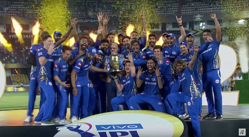 Mumbai Indians asks fans to celebrate responsibly during IPL 2020 in new campaign via Lowe Lintas Mumbai