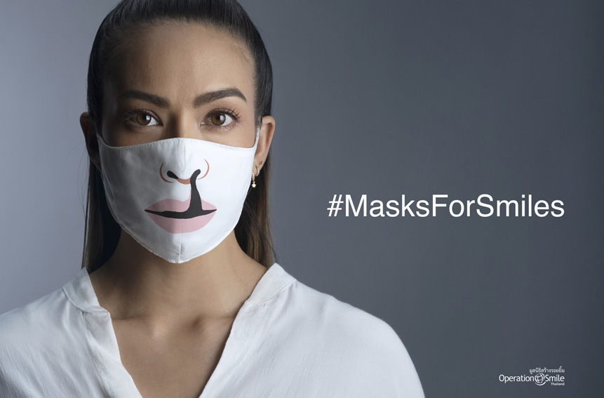 BBDO Bangkok use masks to bring out unseen smiles for Operation Smile Thailand