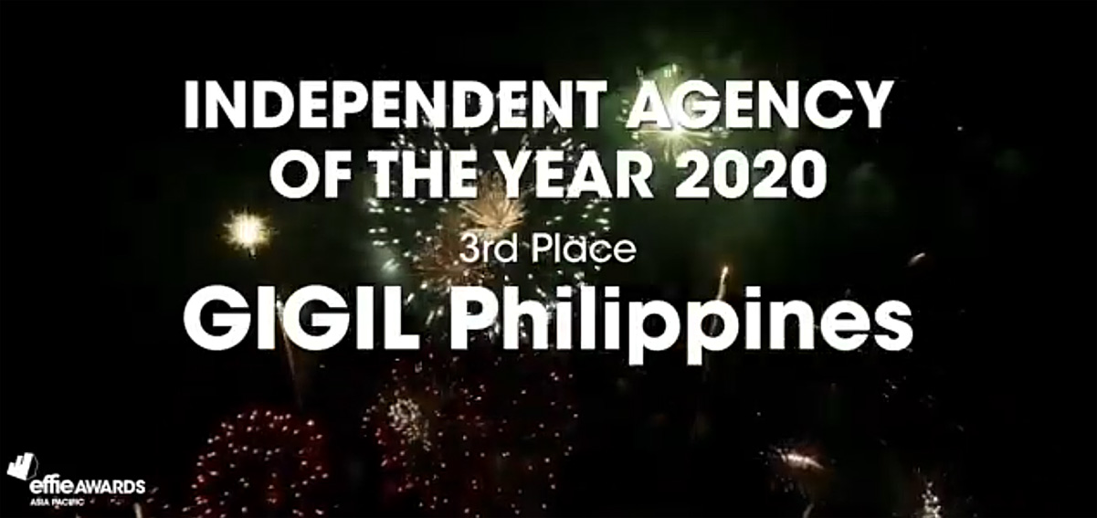 APAC Effies names GIGIL Philippines 3rd most effective independent agency in Asia-Pacific