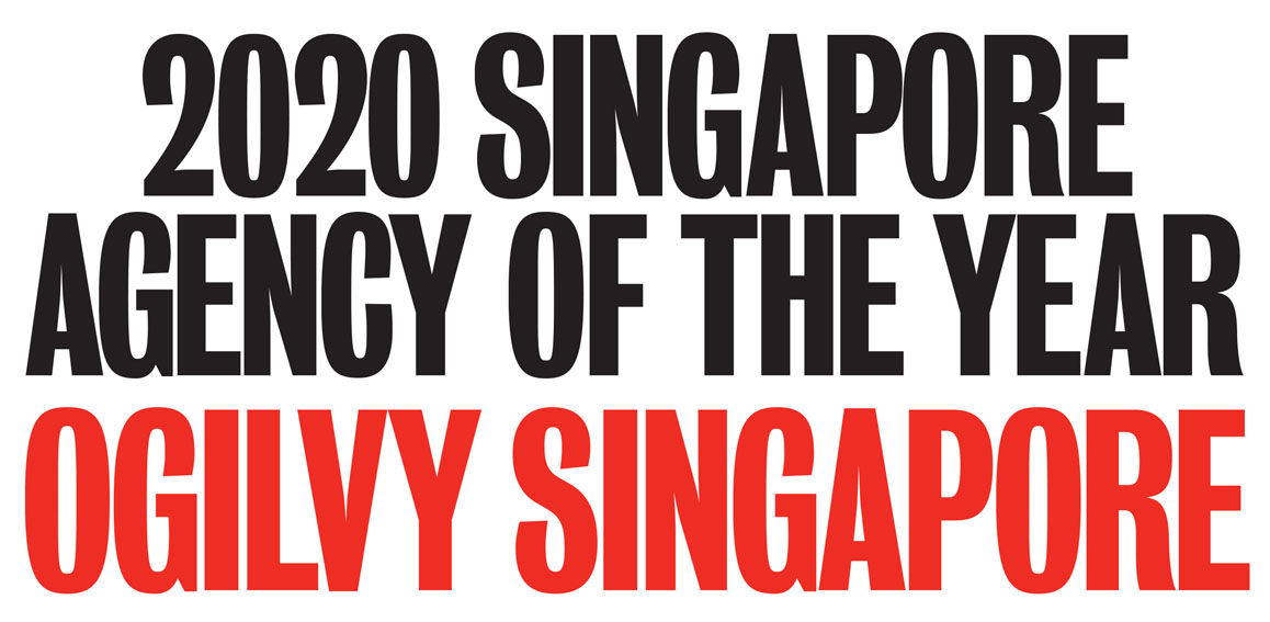 Ogilvy named 2020 Singapore Creative Agency of the Year following the release of Campaign Brief Asia's Creative Rankings: Sa'ad Hussein + Eugene Cheong lead Singapore's Hottest Creatives ranking