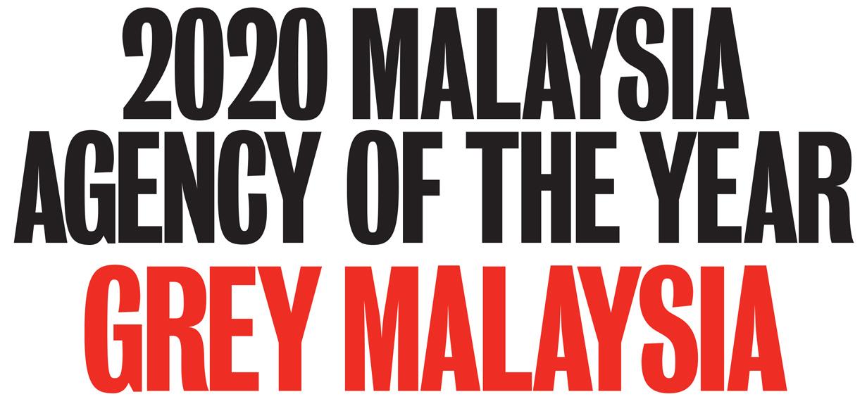 Campaign Brief Asia's 2020 Malaysia Creative Rankings sees Grey Group awarded Creative Agency of the Year: Vince Lee, Elissa Azizi + Nicholas Kosasih head ranking of top creatives