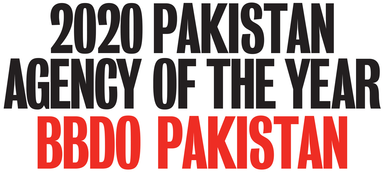 BBDO takes out Campaign Brief Asia's 2020 Pakistan Agency of the Year award: Current and former BBDO creatives fill every position on the Hottest Creatives Ranking