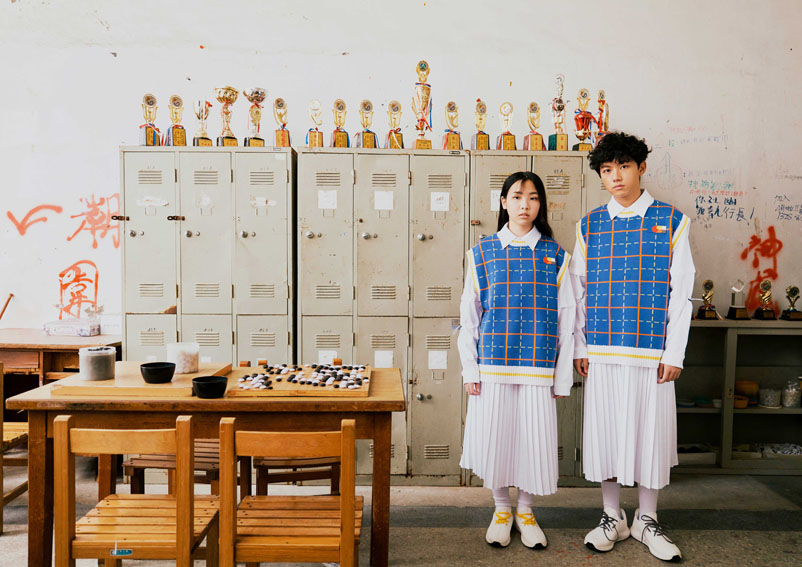 Angus Chiang and Ogilvy unveil world's first gender-neutral school uniform at Vogue Fashion Week Taipei