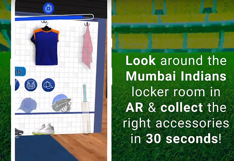 AliveNow takes Mumbai Indian cricket fans into their locker room via augmented reality