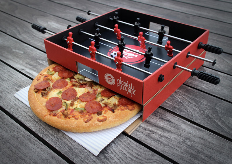 Ogilvy Hong Kong releases out of the box football season campaign for Pizza Hut