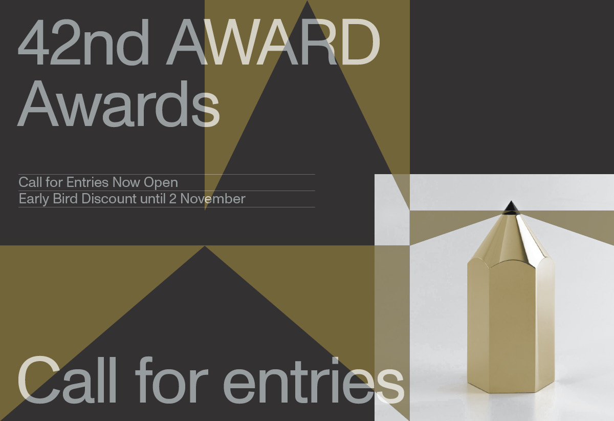 42nd AWARD Awards launches call for entries; deadline for entries Friday, 11 December