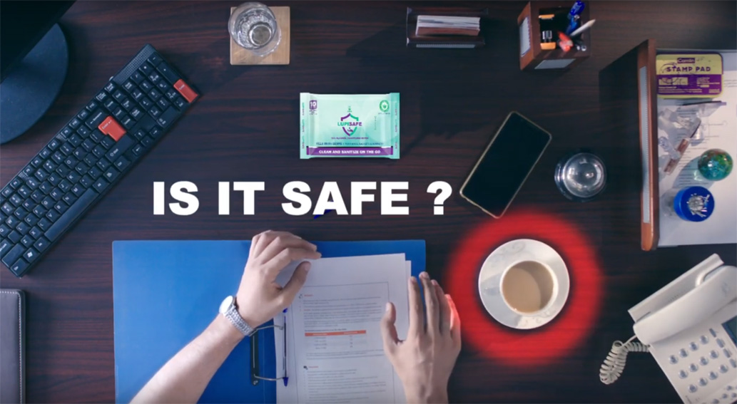Contract Advertising India releases 'Be Safe' series for Lupin's Lupisafe Wipes
