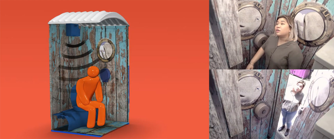 Geometry Singapore and Storytel launch Looterature, the first public restroom that plays audiobooks