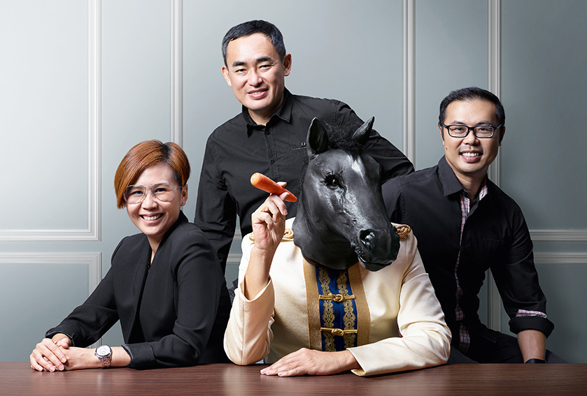 Donevan Chew teams up with Choo Chee Wee + Pang Li Li at Malaysian hotshop Muma
