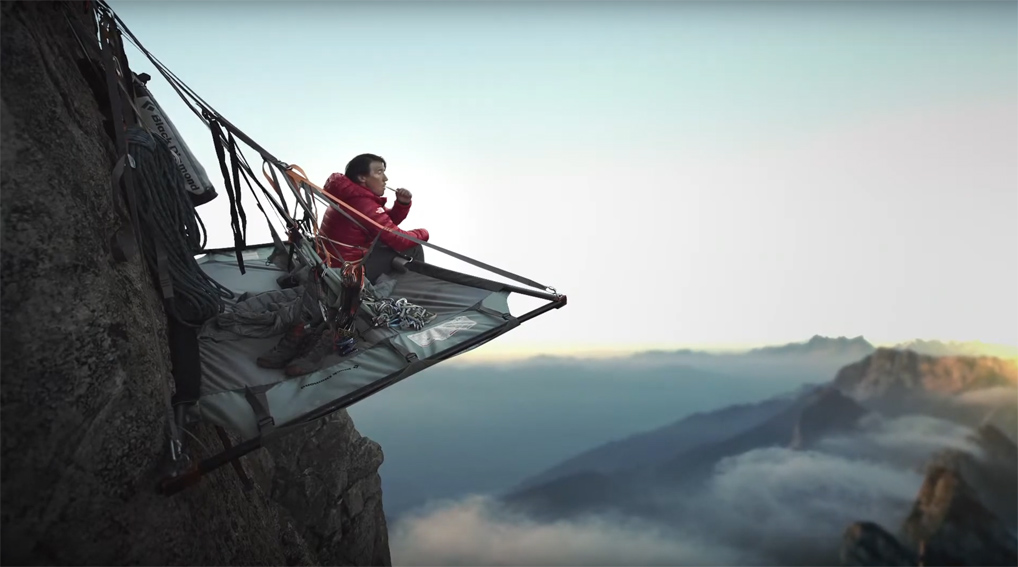 Academy Award-winning filmmaker Jimmy Chin celebrates the spirit of those who strive for greatness in new Colgate campaign via RedFuse
