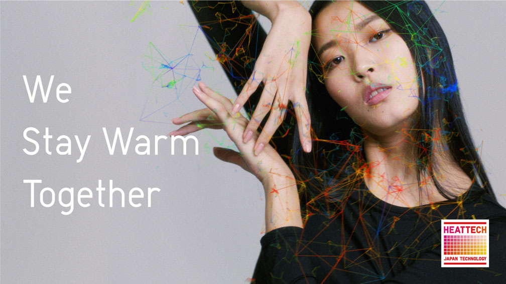 UNIQLO launches new campaign using body temperature ThermoArt technology