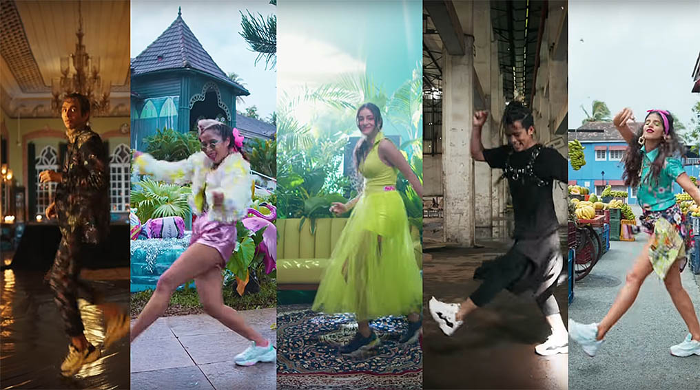 Indian actress Ananya Pandey gets you dancing in Skechers D'Lites campaign via Leo Burnett India