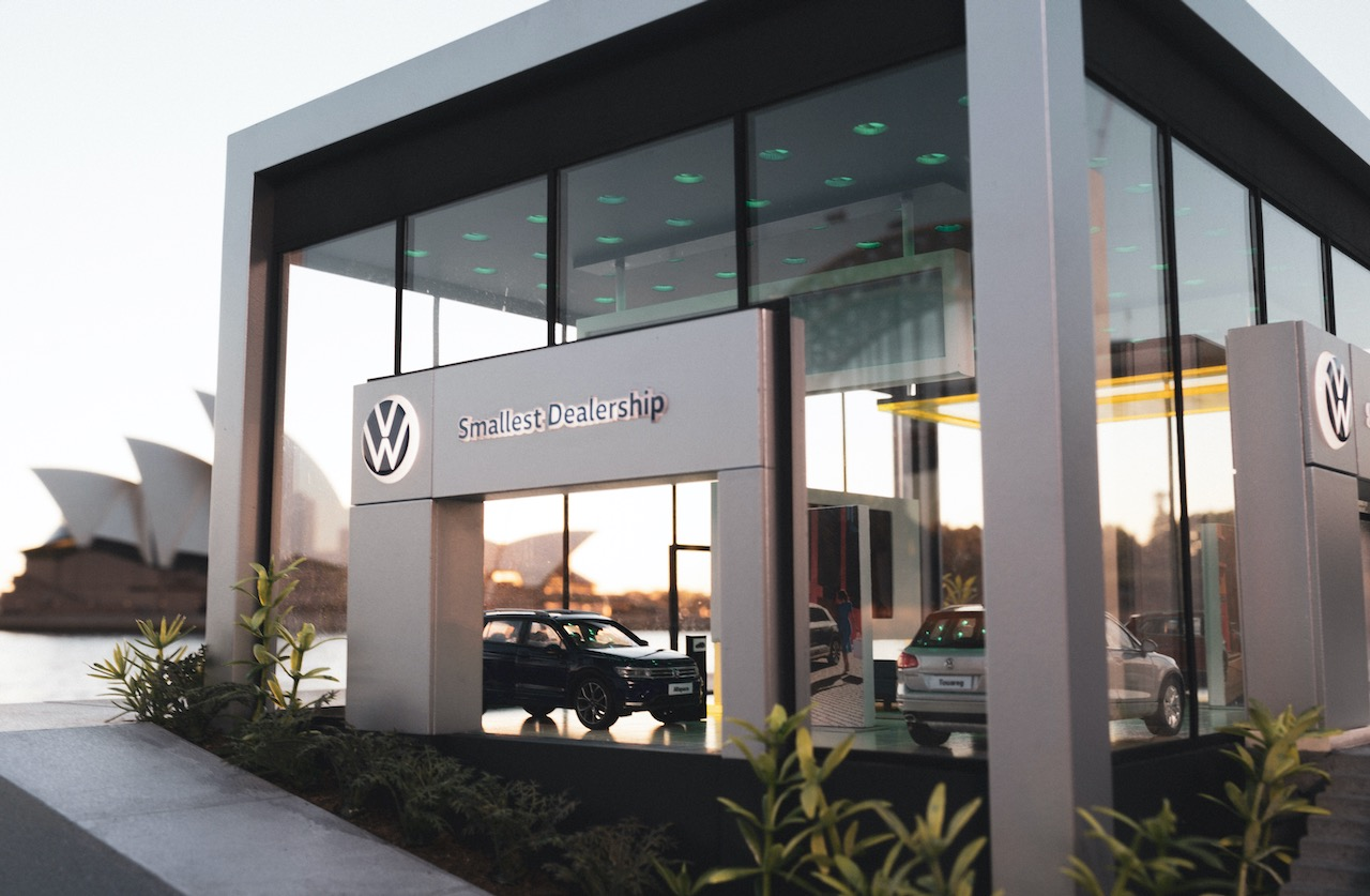 Seen+Noted: Volkswagen open World's Smallest Dealership to let Aussies 'try on' its small SUVs