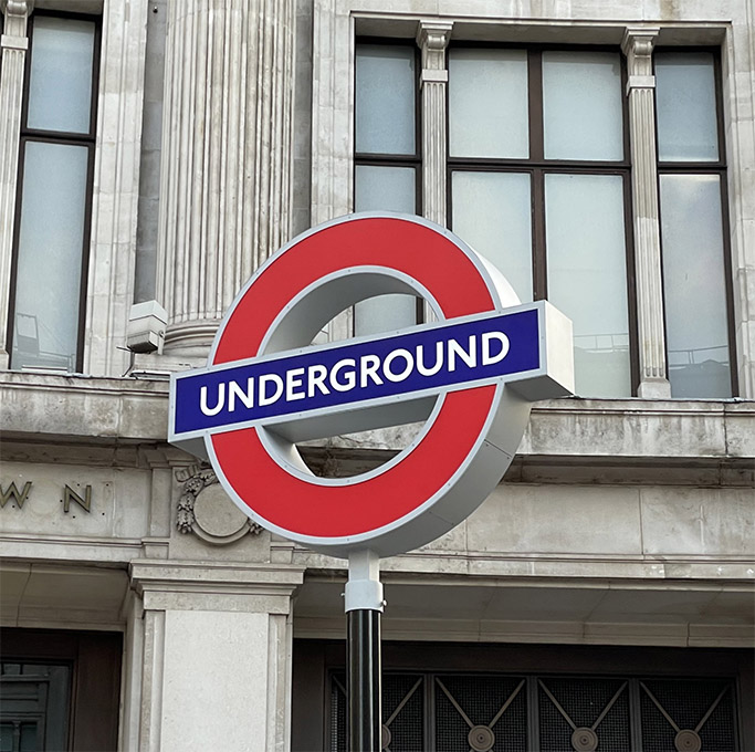 Seen+Noted: PlayStation takes over Oxford Circus Tube station signage in eyecatching stunt to launch PS5 in the UK