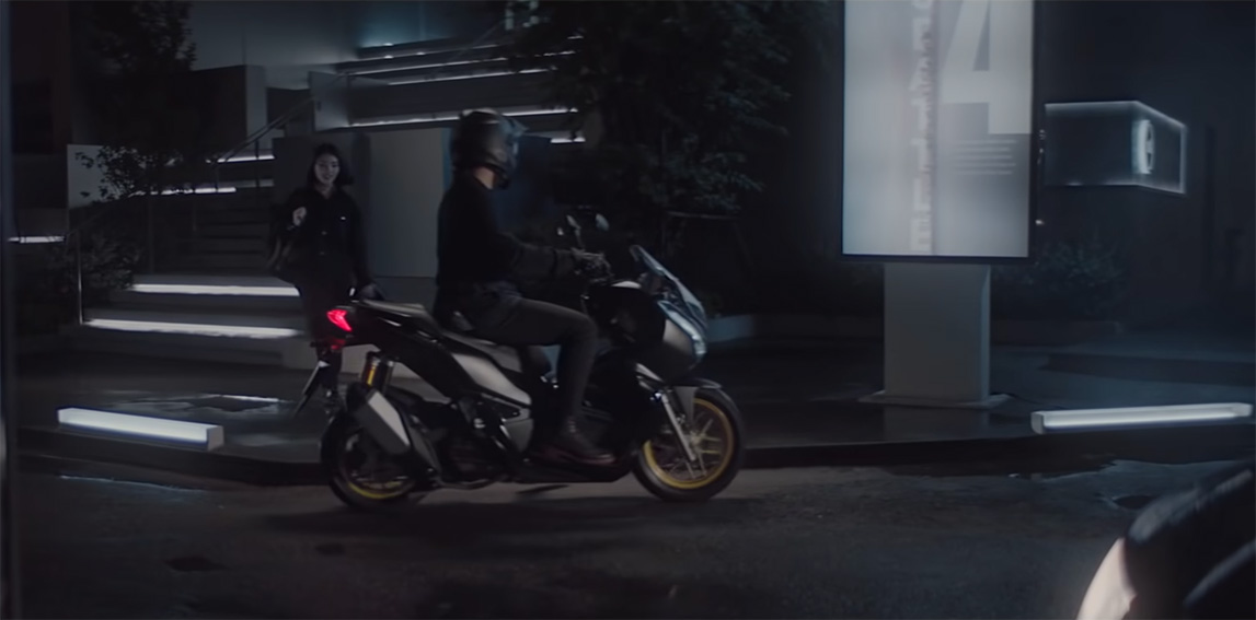 CJ WORX Bangkok turns Thailand's worst traffic jams and roads into a promotion for Honda Motorcycles new ADV 150 bike