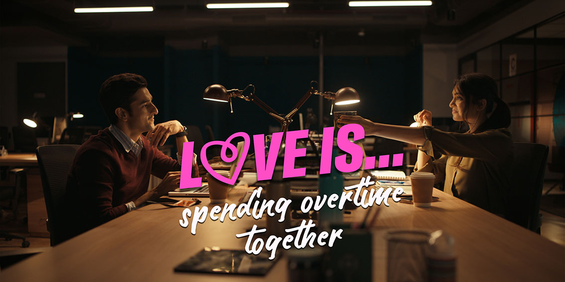 Taproot Dentsu Mumbai encourages Indian millennials to find out what love is in digital campaign for OkCupid