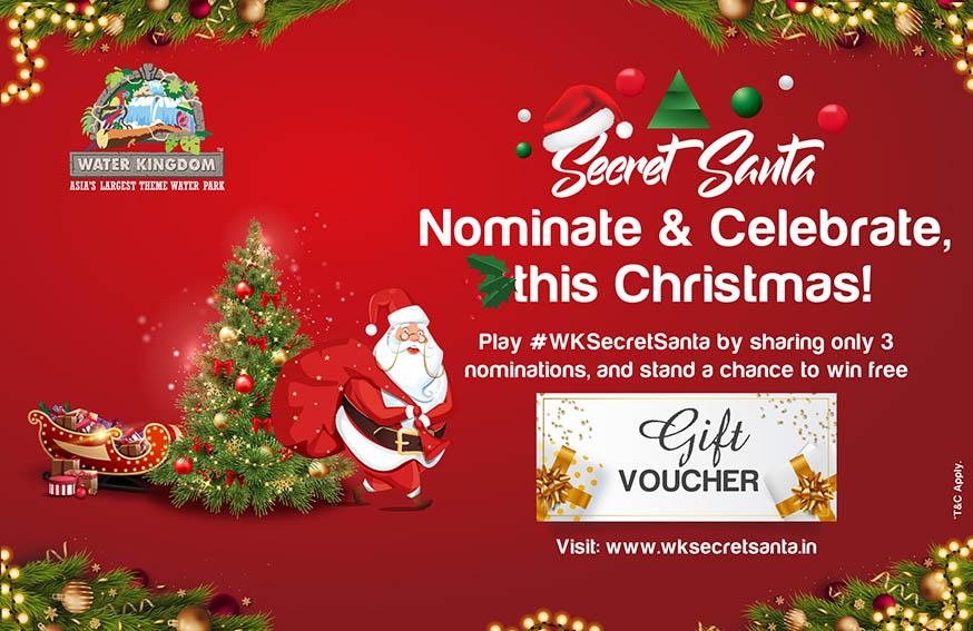 Wunderman Thompson India and Water Kingdom keep Christmas traditions going creating digital 'Secret Santa' game
