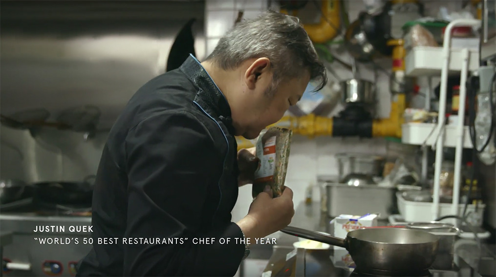 Chef Justin Quek cooks up a 3 course meal for humans using Furry's Kitchen dog food via Ogilvy Singapore