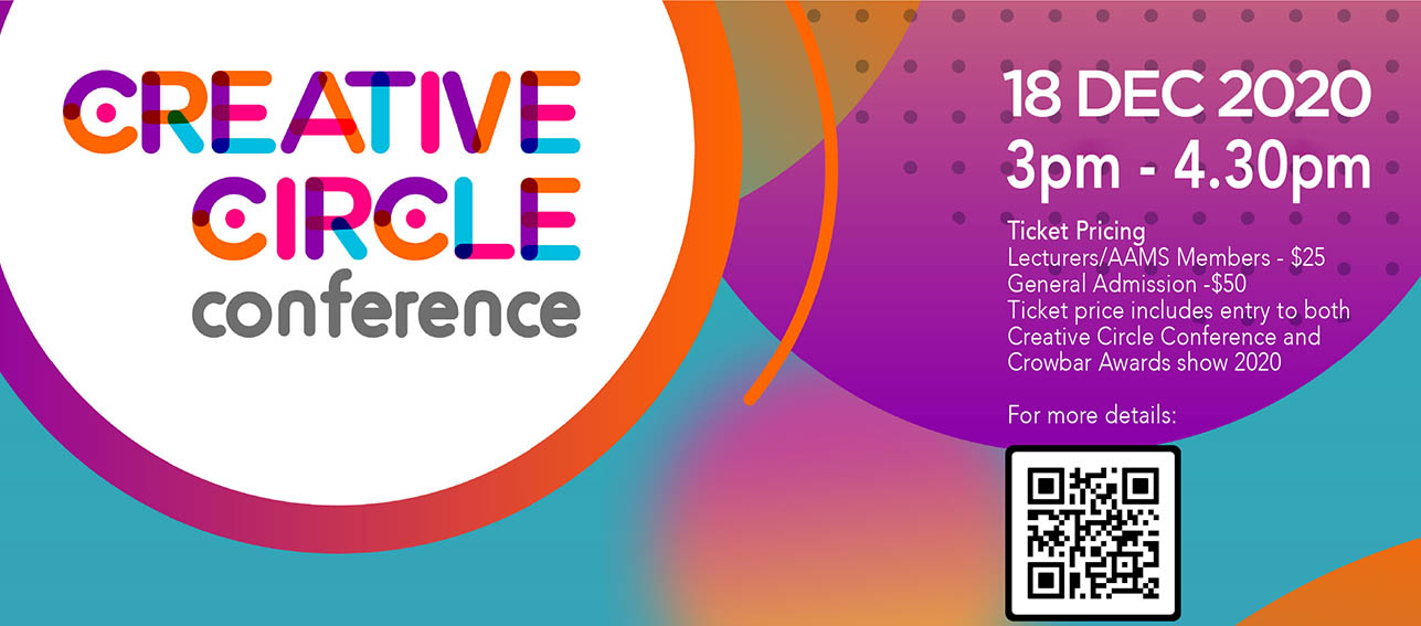 AAMS Creative Circle Conference 2020 'The NxtNormal' happening on 18 Dec 2020