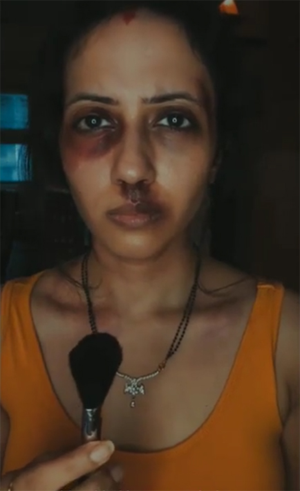 The women of MullenLowe Lintas Group India raise their voices against domestic violence