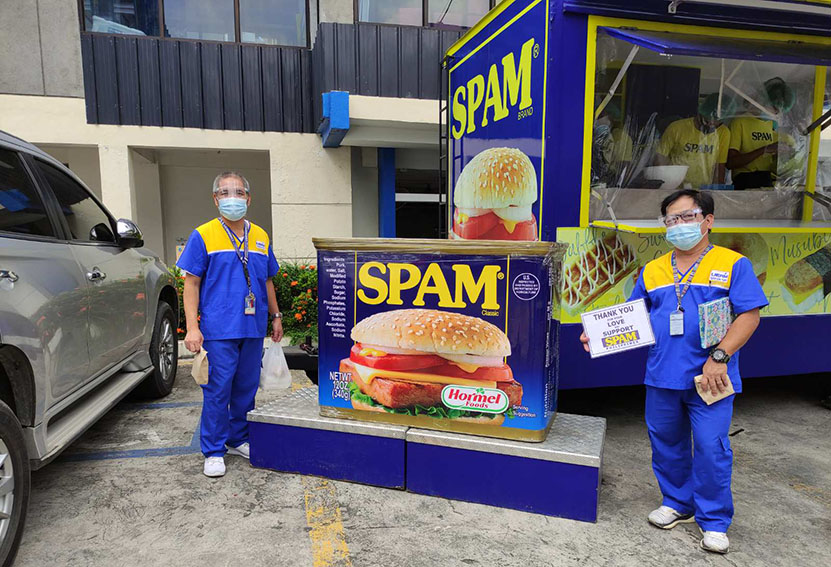 SPAM and BBDO Guerrero Philippines open pop up shop for the benefit of medical frontline workers