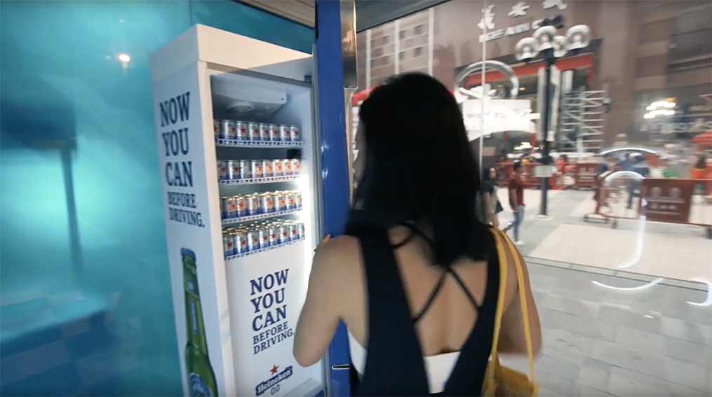 Publicis Singapore created the car key activated 'The Driver's Fridge' to encourage Singaporeans to drink Heineken 0.0 before driving