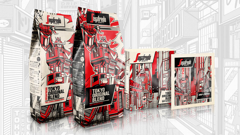 Segafredo Zanetti Japan launches a series of limited edition packaging developed by ZOO Group