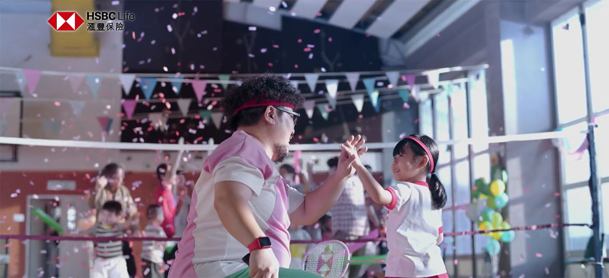 Saatchi & Saatchi Hong Kong and HSBC Life encourage everyone to make every day count