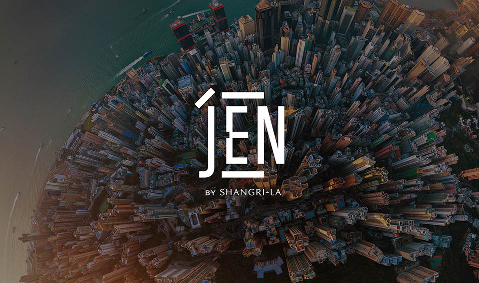Design Bridge Shanghai releases rebrand of hotel chain JEN by Shangri-La