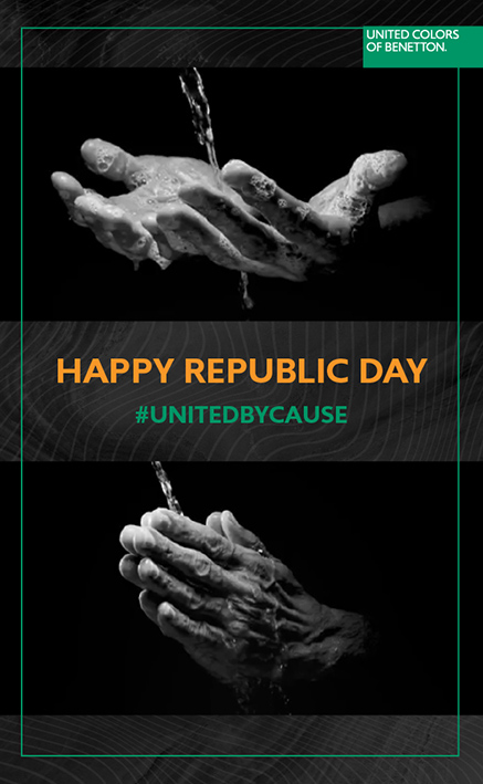 Taproot Dentsu releases Republic Day campaign for Benetton inspiring India to stay united and safe