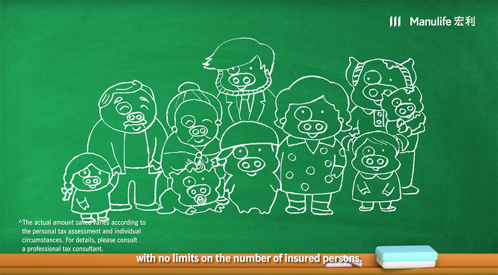 McDull makes another appearance in Manulife's latest Tax-deductible solutions campaign