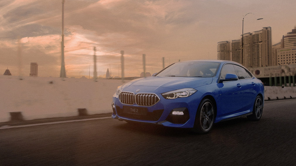 Directors Think Tank and Vertex Blue Malaysia release #BeUnconventional BMW campaign