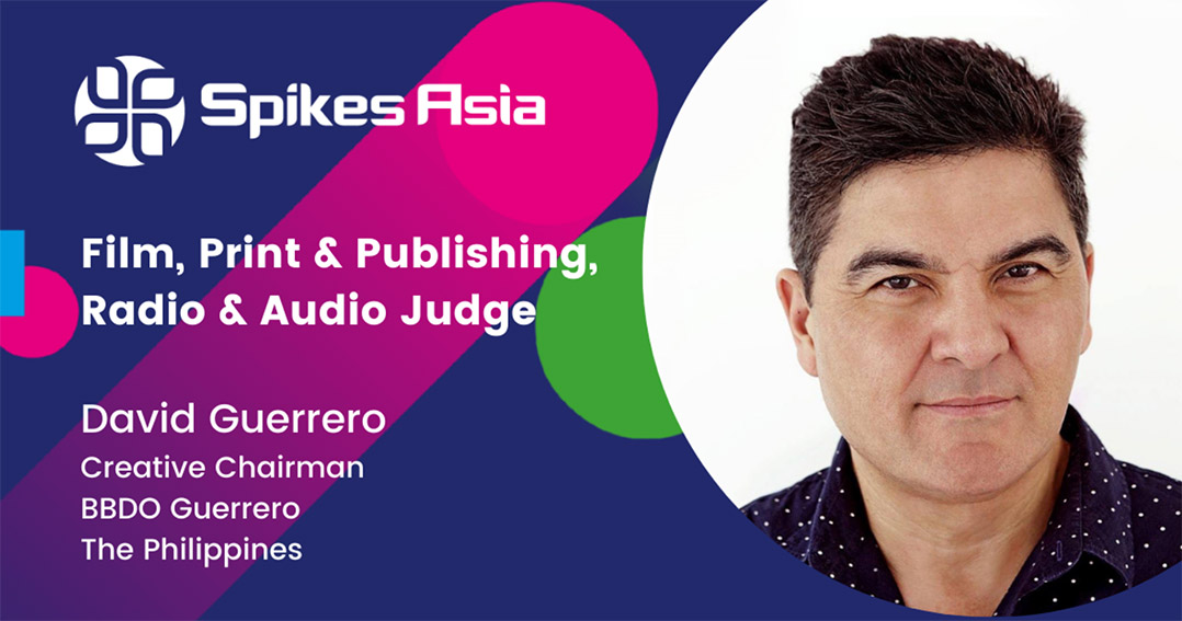 David Guerrero: Entertainment rules at the Spikes Asia shortlist judging stage