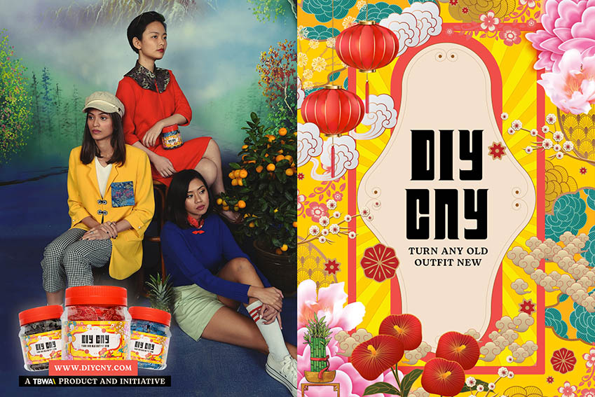 TBWA\Singapore introduces DIY CNY accessory kit for those with nothing to wear this Lunar New Year