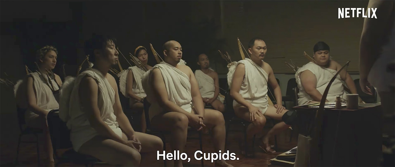 The Philippine Association of Cupids remind people how to flirt in new Netflix campaign via GIGIL Philippines