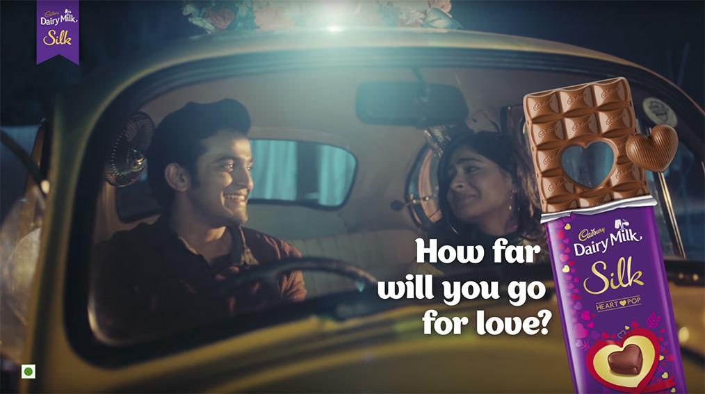 Cadbury Dairy Milk Silk launch ask couples how far they'll go for love this Valentine's Day via Ogilvy India