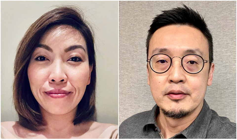 Former Water's Edge creative partner Andy Lee and client services director Michelle Tee partner to from new agency, W/E + Partners