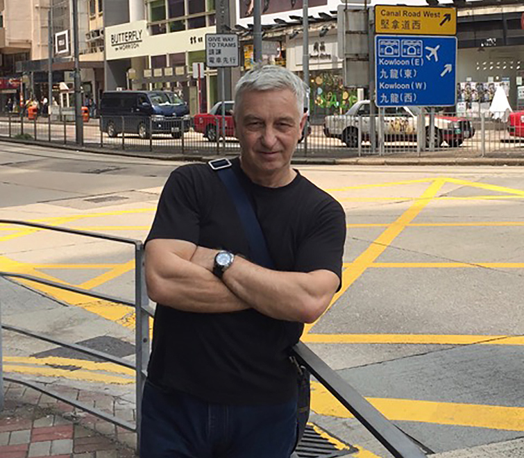 Chris Kyme: Postcard from Hong Kong – The Willde man of Hong Kong