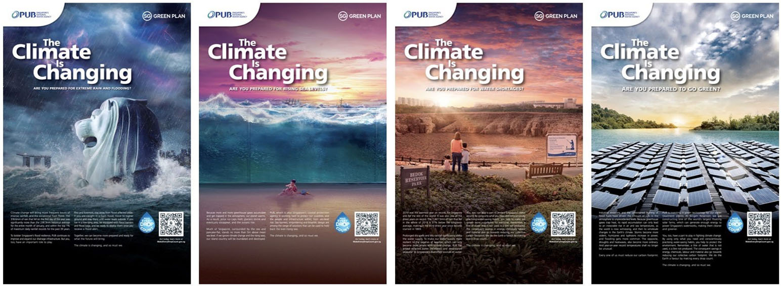 Tribal Worldwide Singapore and PUB highlight water sustainability issue with 'The Climate is Changing' initiative