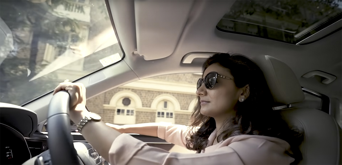 This International Women's Day Audi is driving the change via BBH India campaign