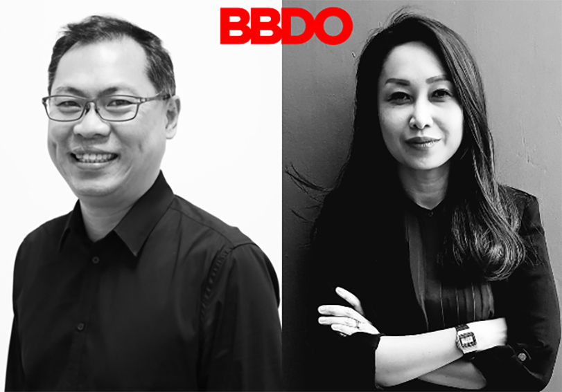BBDO Singapore appoints Monica Hynds to General Manager to partner Guan Hin Tay: Current MD Nick Morrell to leave the agency