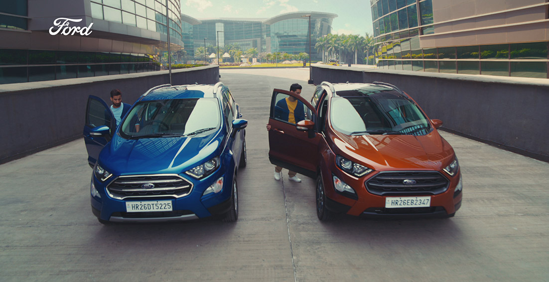 BBDO India compares the lives of twins in 'same, same, but different' push for Ford EcoSport SE
