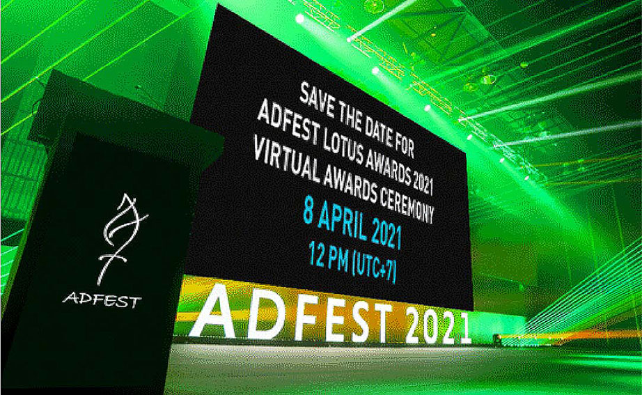 ADFEST 2021 Virtual Awards ceremony to be held Thursday 8th April: Register to view now