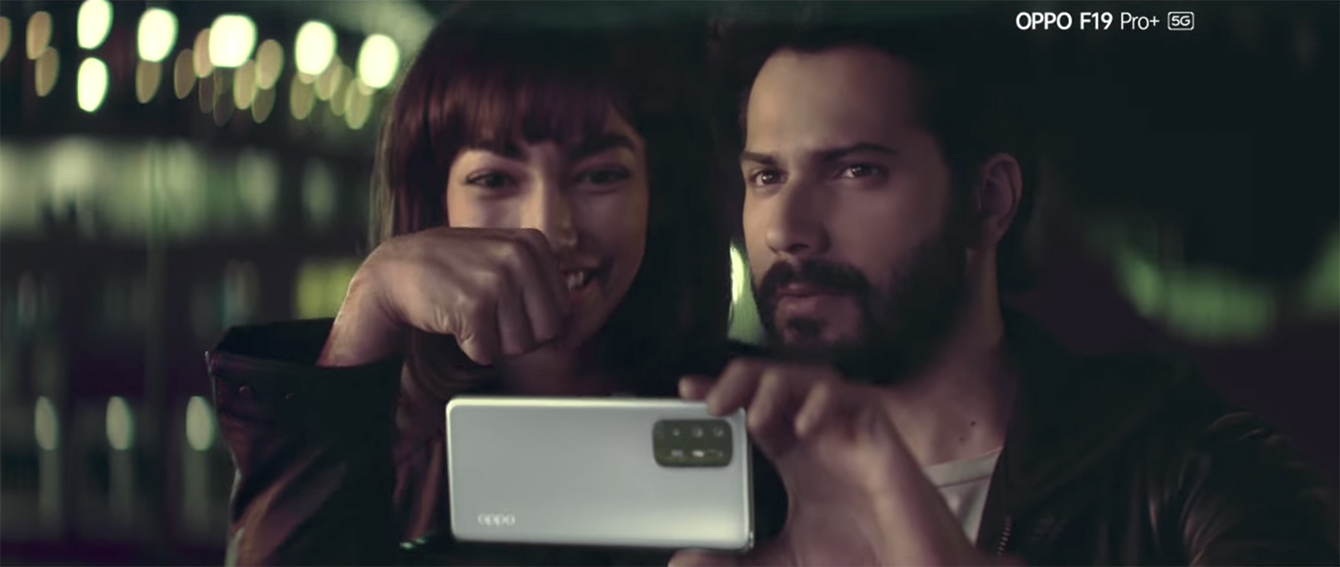 Taproot Dentsu India showcases the OPPO F19 Pro's new AI Highlight Portrait Video feature