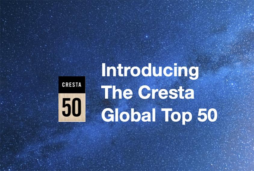 Nine Asian agencies chart in Cresta Awards first global Top 50 list