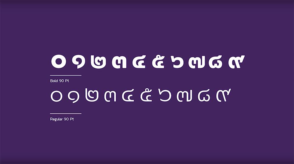 WORKKIT Bangkok creates the TYPOGIFT font