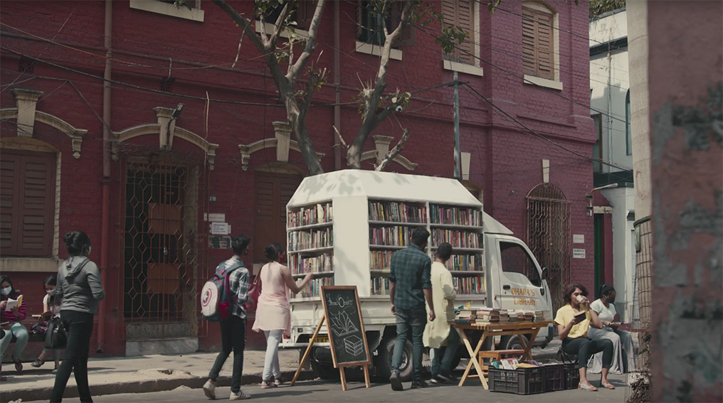 Taproot Dentsu India reignites the love for books in the new 'More Together' campaign for Facebook