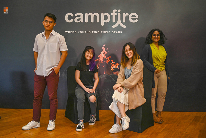 National Youth Council, *SCAPE and Tribal Worldwide Singapore launch Campfire, a 6 week creative-solutions programme for youths