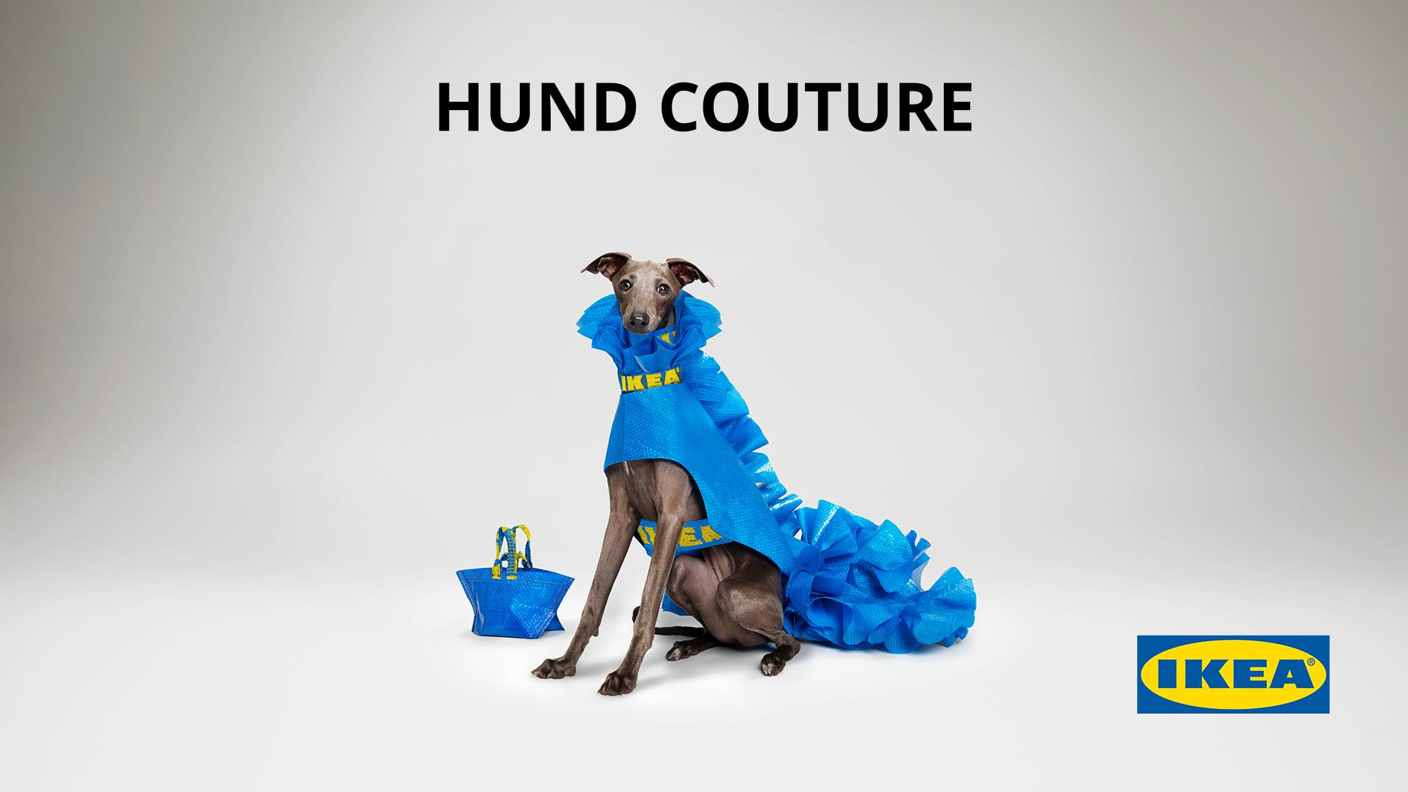IKEA Australia launches HUND COUTURE for dogs in April Fools' Day campaign
