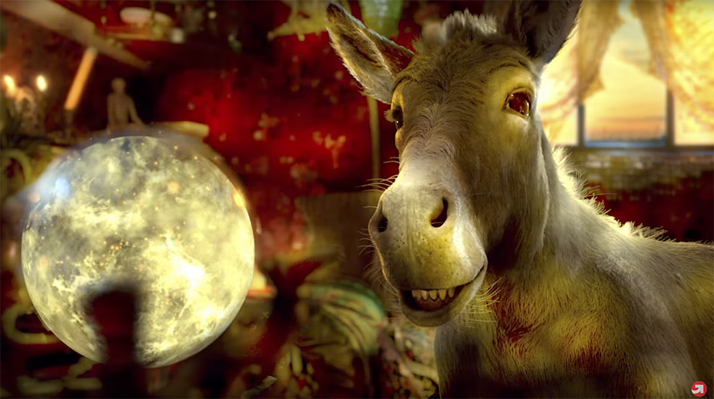 upGrad's Donkey returns, this this time predicting the future of working professionals via The Womb India